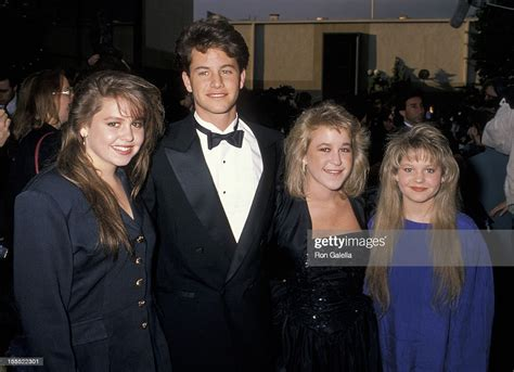 Actor Kirk Cameron, and sisters Candace Cameron, Melissa