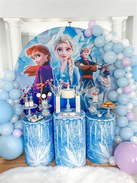 Frozen Themed Sleepover Party - Pretty My Party - Party Ideas