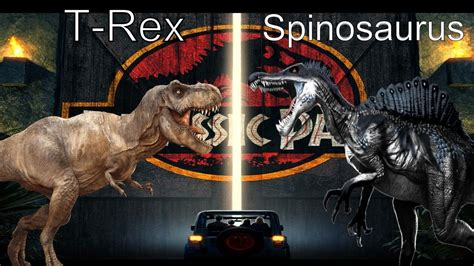 T-Rex Vs Spinosaurus: The Rematch - YouTube