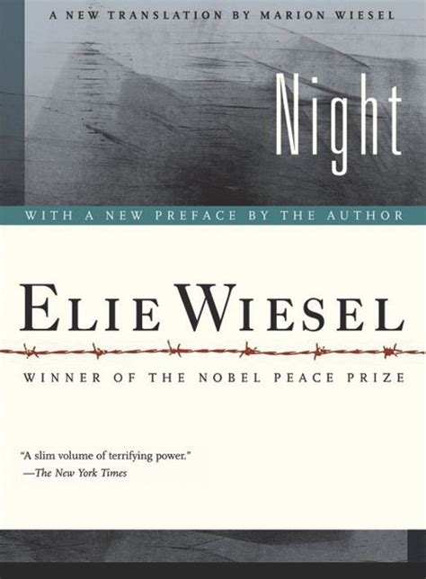 Night (Hill and Wang), by Elie Wiesel - Shepherd Express