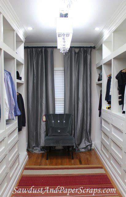 How to use curtains to hide an off center window