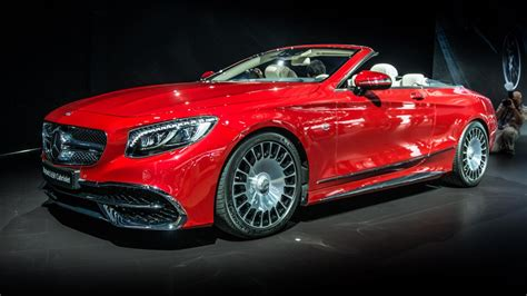 The Mercedes-Maybach S650 Cabriolet has arrived   Top Gear