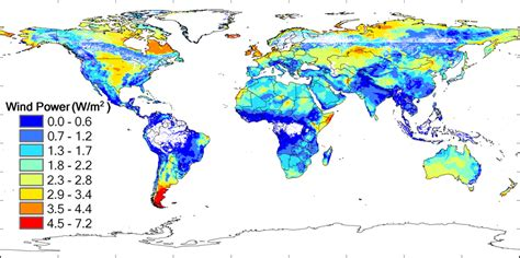 Global potential for wind-generated electricity   PNAS