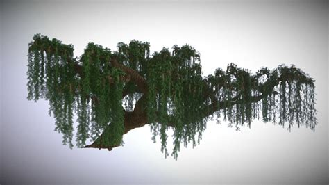 Minecraft Giant Willow Tree - Download Free 3D model by
